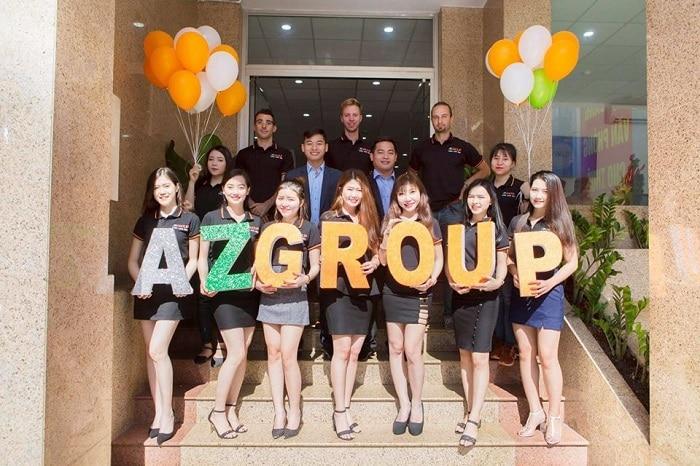 AZGROUP chuyên cung cấp dịch vụ Digital marketing