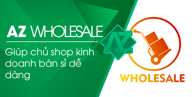 AZ Wholesale – Ứng dụng bán sỉ