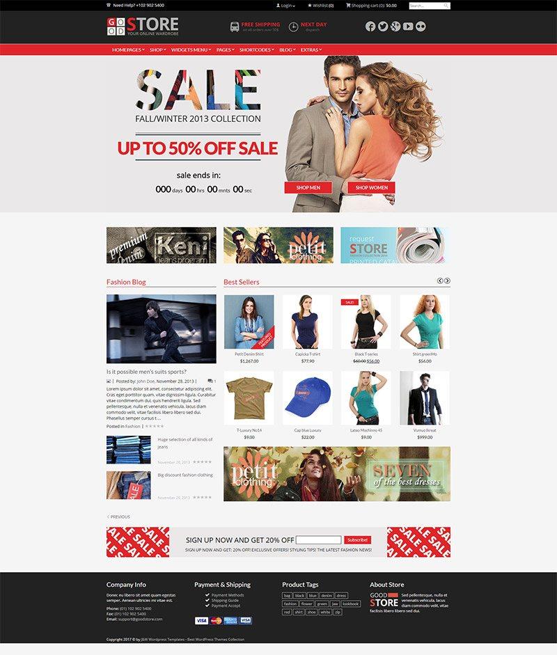 Mẫu web thương mại điện tử / T2006