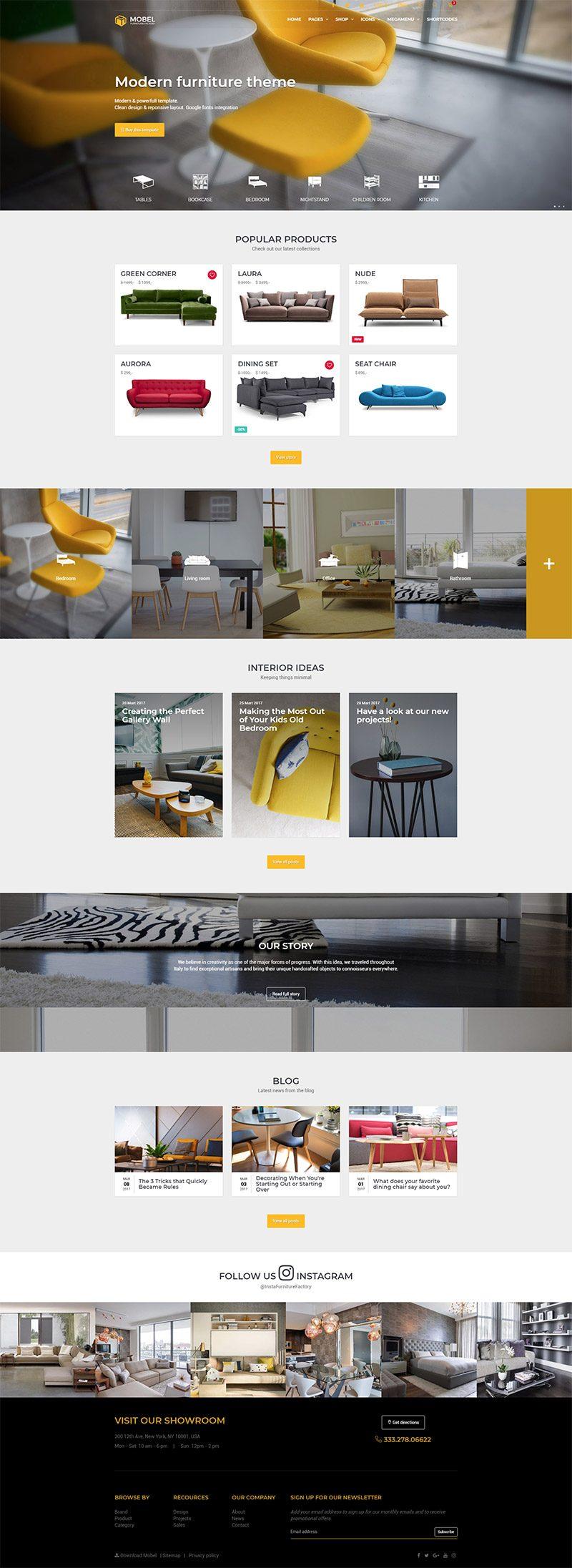 Mẫu web thương mại điện tử / T2004