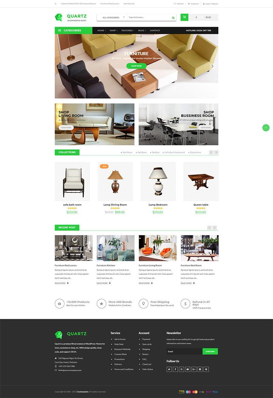Mẫu web thương mại điện tử / T2008