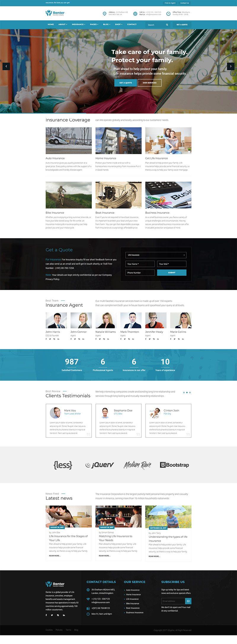 Mẫu  web bất động sản / D1361