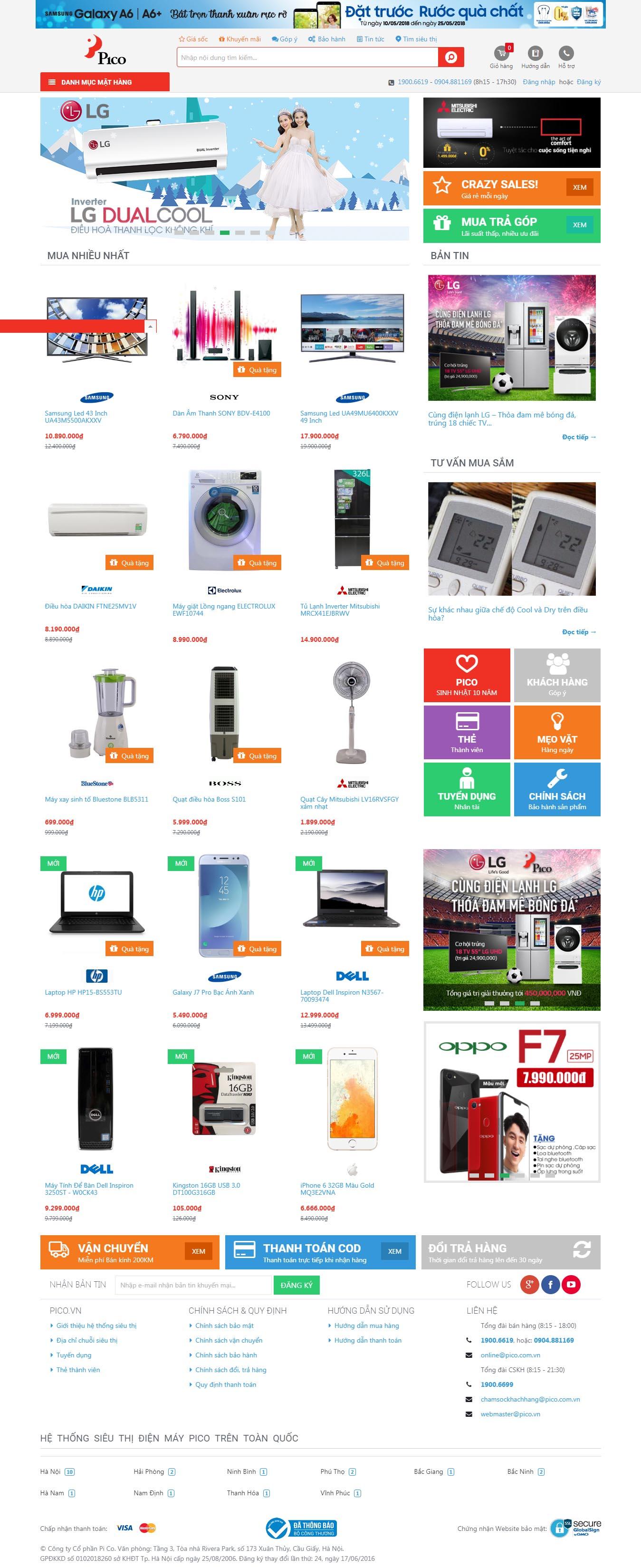 Mẫu Web Công Nghệ / CN0166