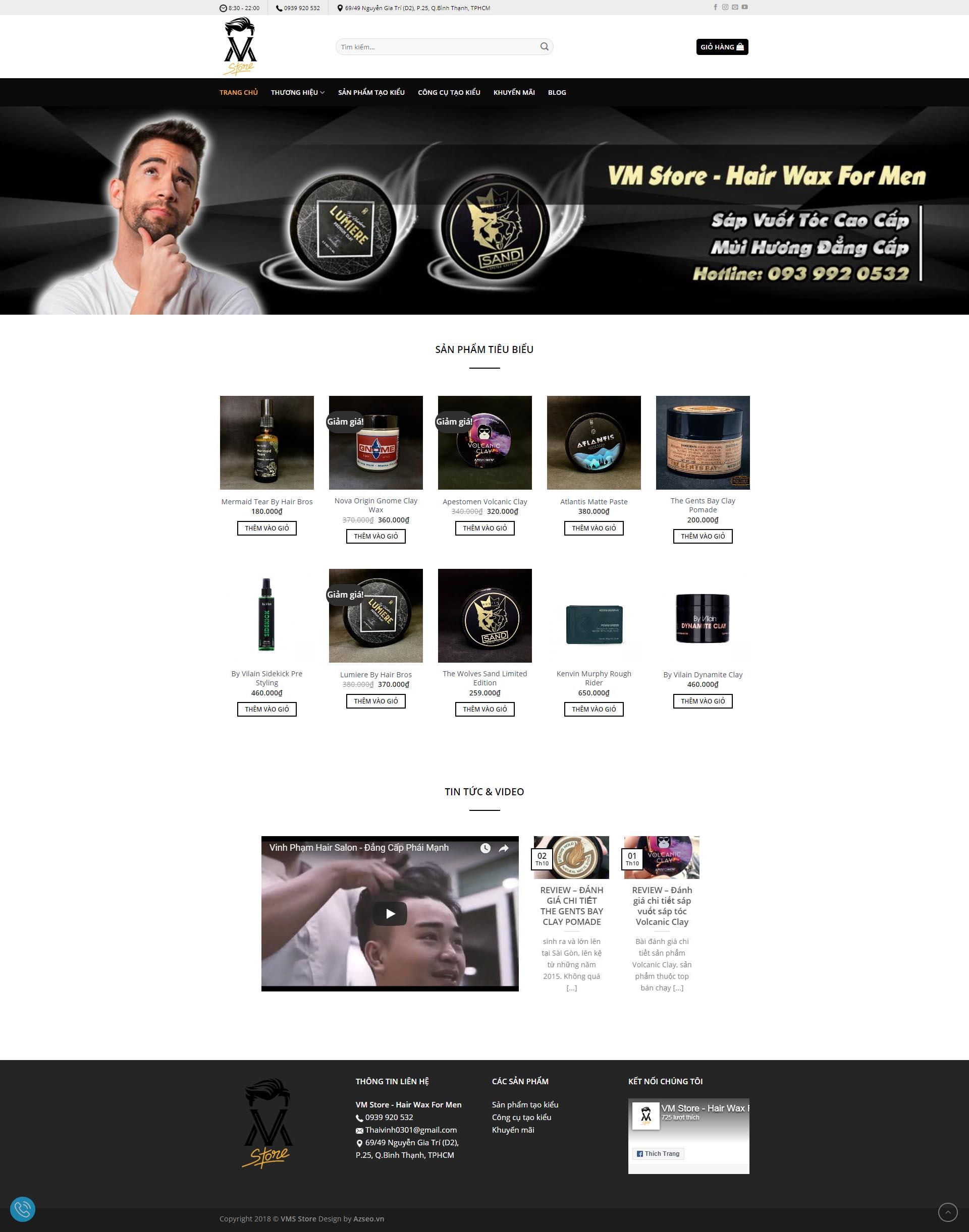 Mẫu Web 295K / Y0166