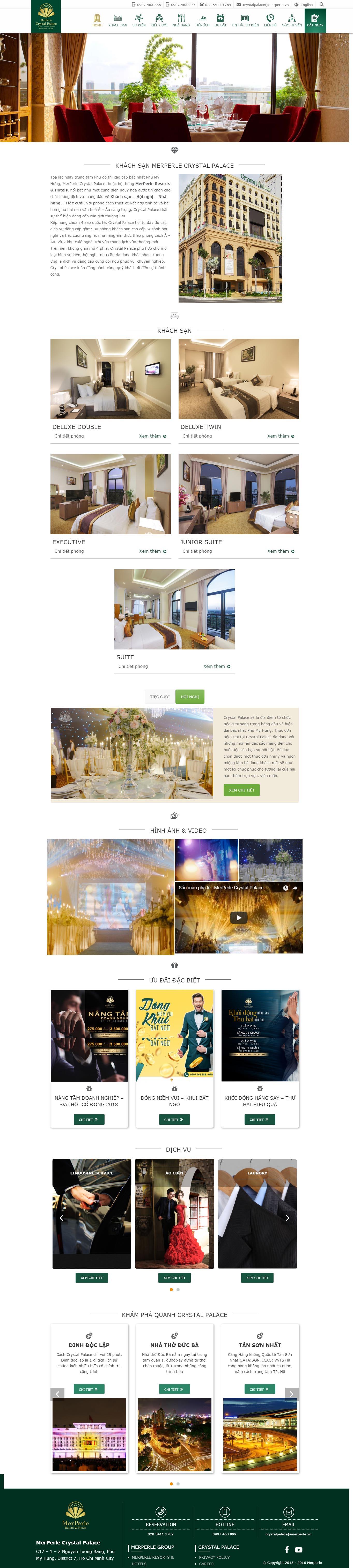 Mẫu Web Khách Sạn / K0170