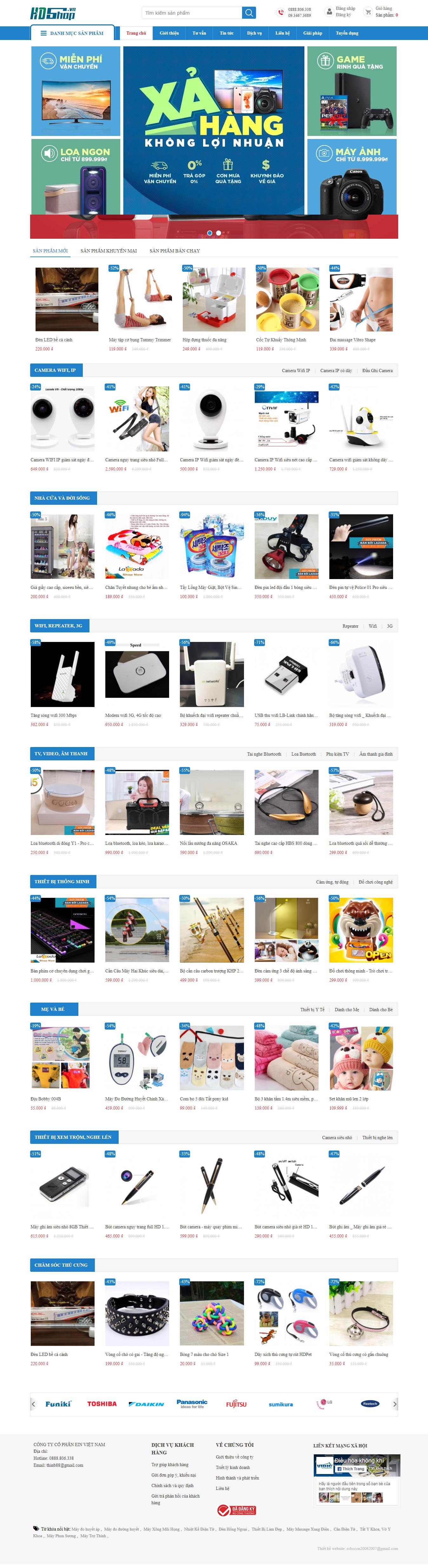 Mẫu Web Công Nghệ / CN0170