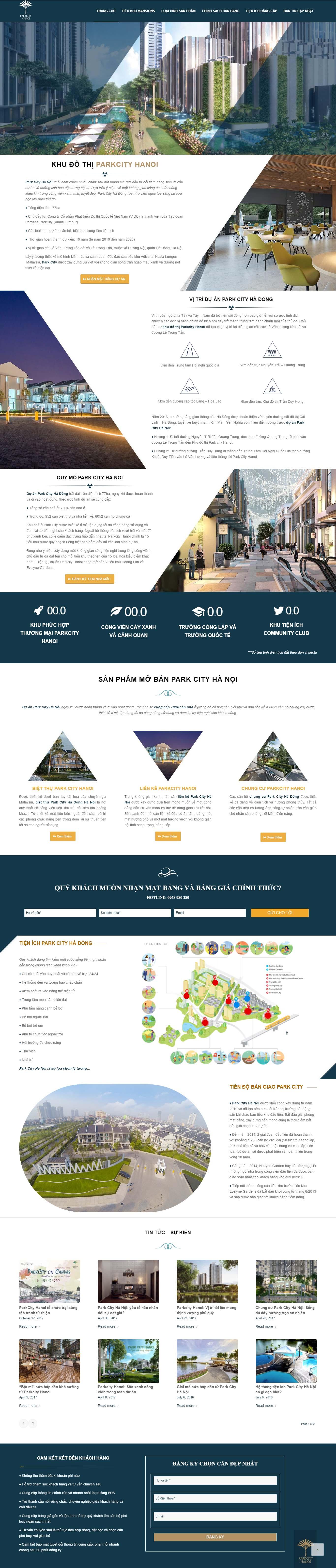 Mẫu Web bất động sản / D0176