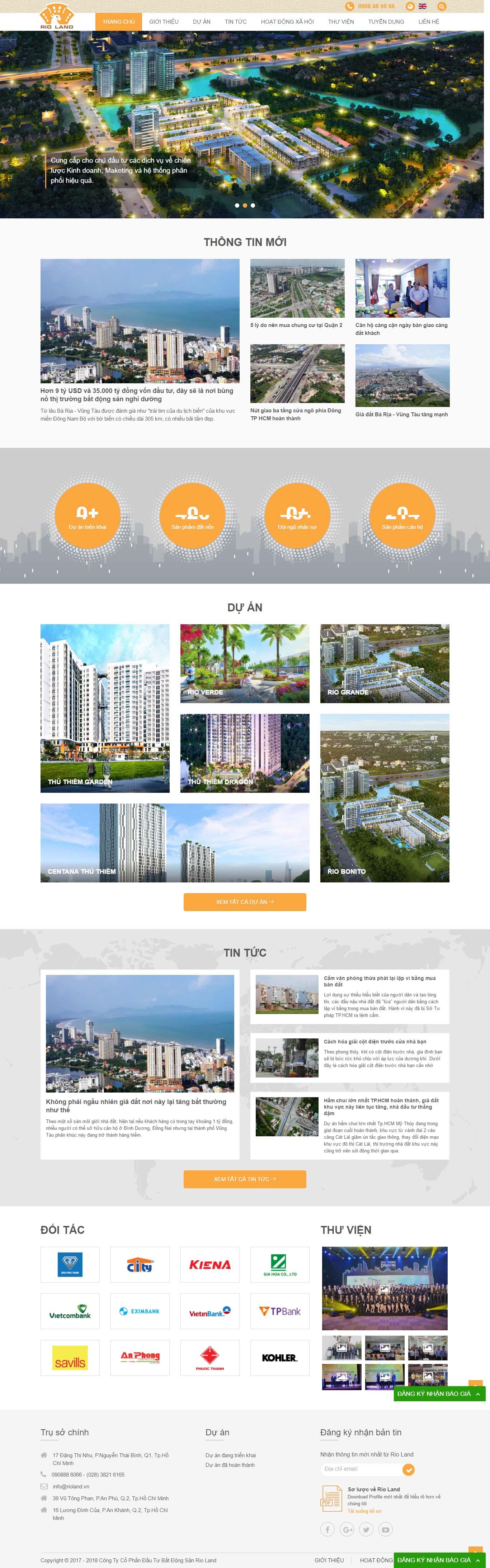 Mẫu Web bất động sản / D0179