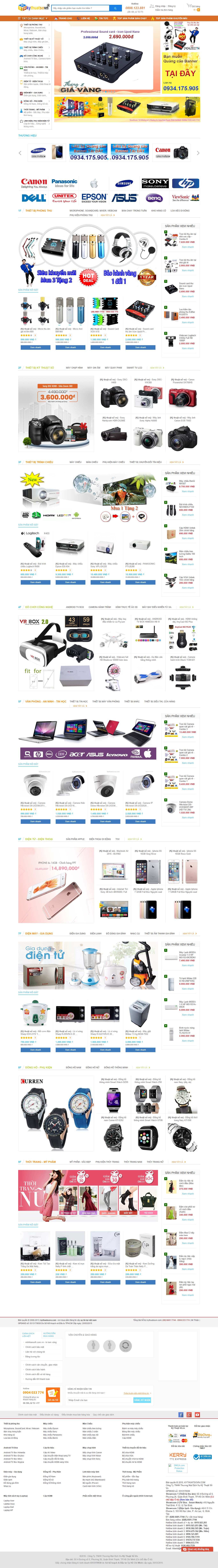Mẫu Web Công Nghệ / CN0159