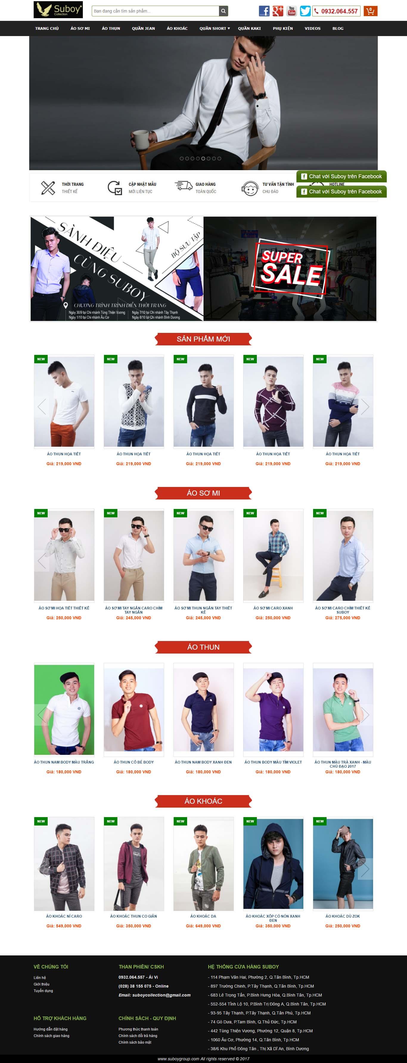 Mẫu Web Thời Trang / TT0160