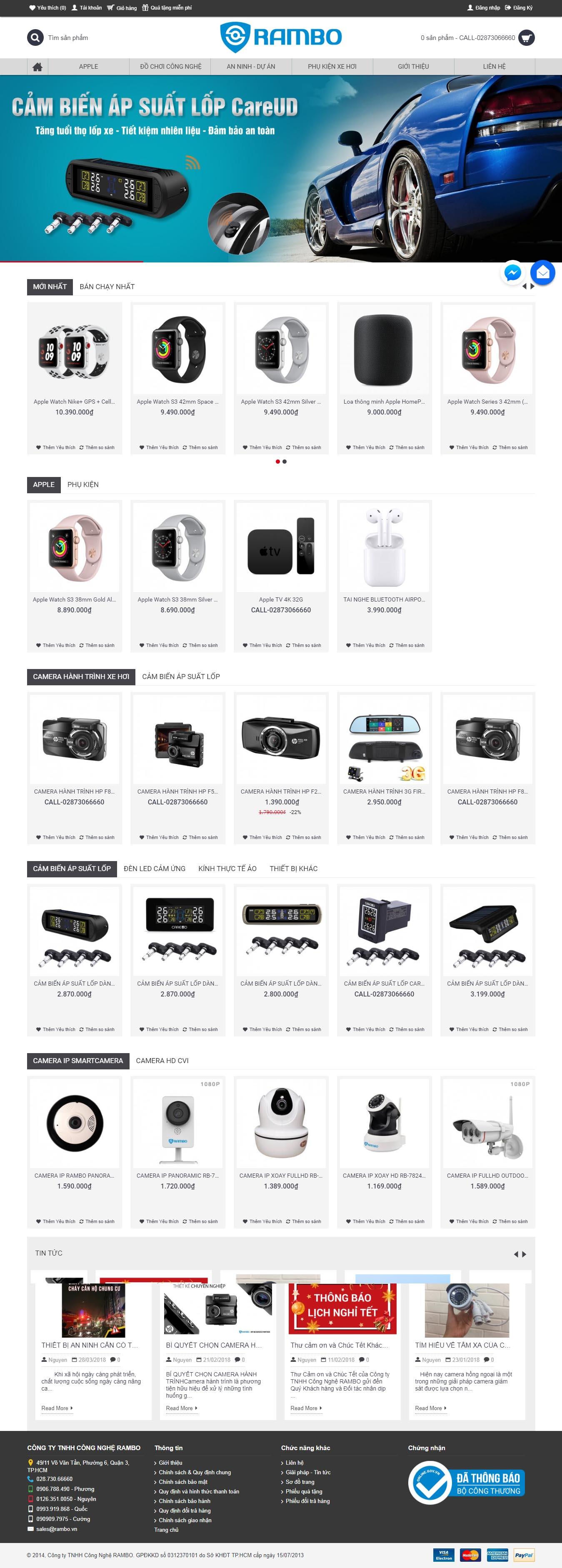 Mẫu Web Công Nghệ / CN0162