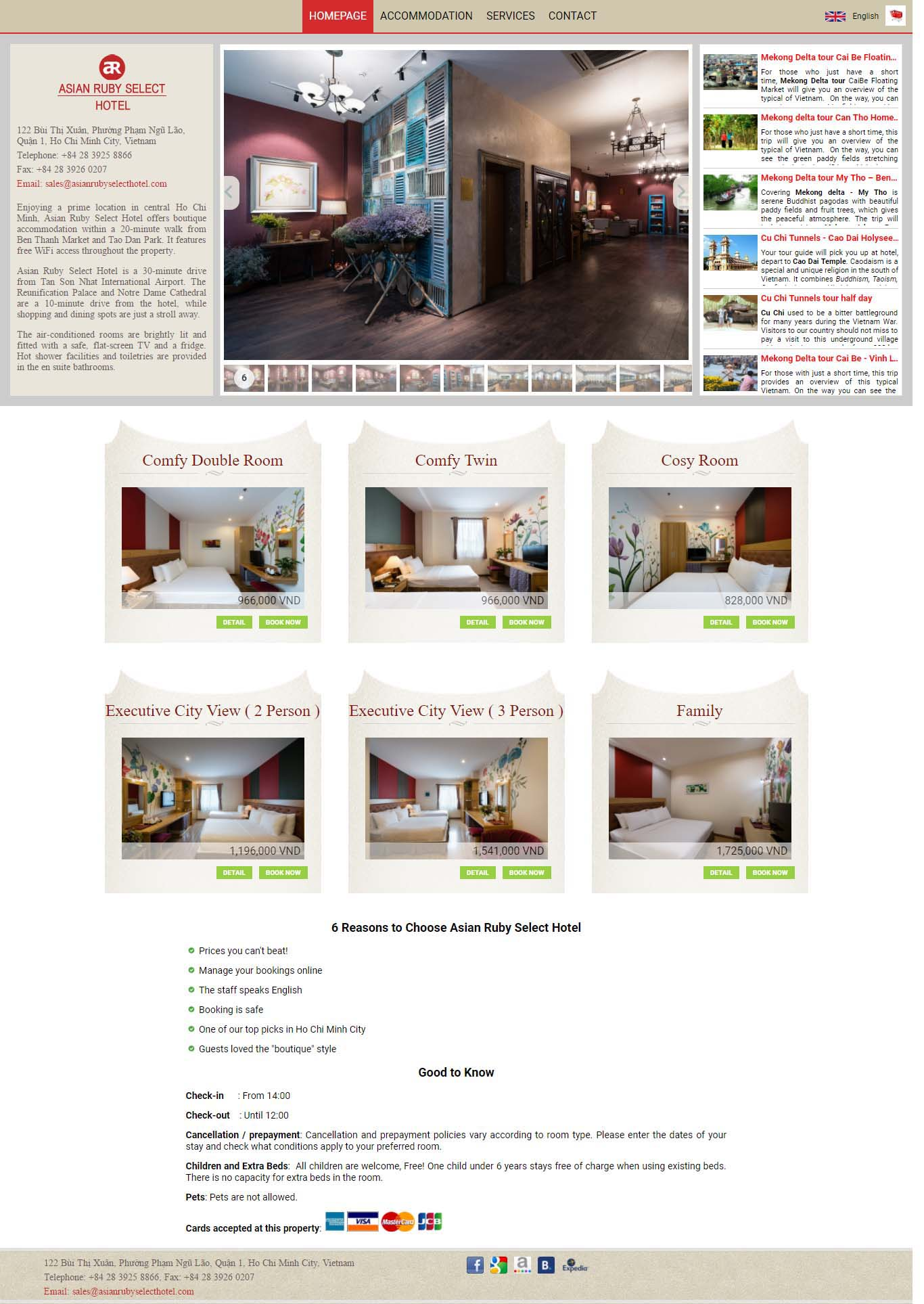 Mẫu Web Khách Sạn / K0162