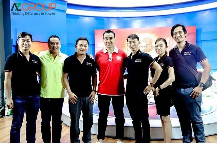 AZGROUP thực hiện các chương trình quảng cáo trên VTV