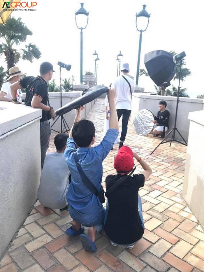 Quy trình quay phim chụp hình tại AZGroup