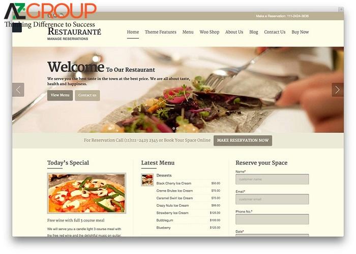 Lợi ích của việc chăm sóc website ẩm thực