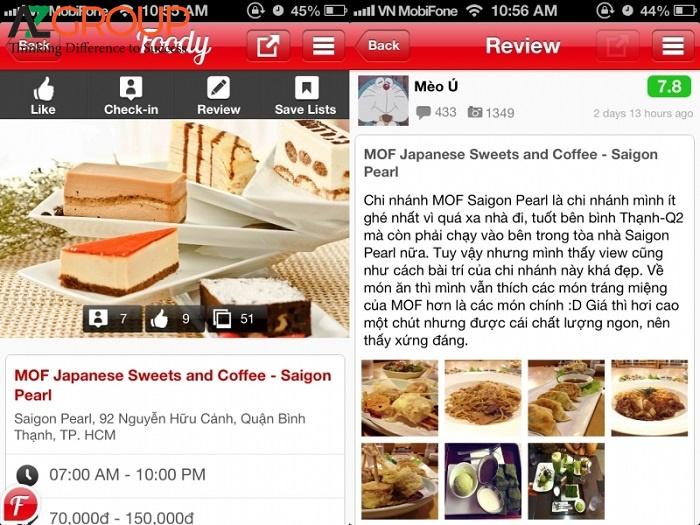 Dịch vụ ẩm thực Việt Nam