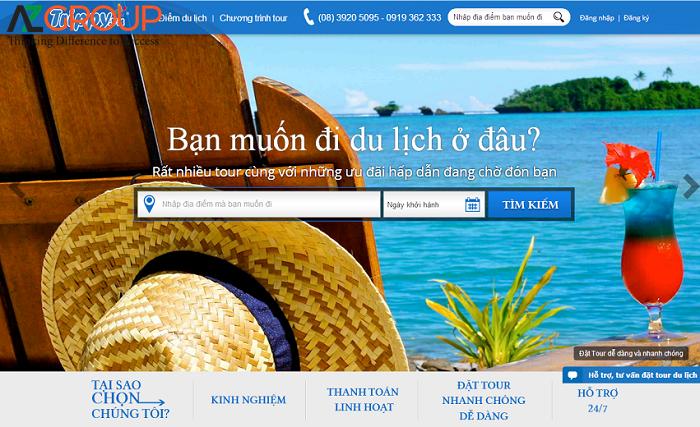 Website du lịch cần phải được chăm sóc