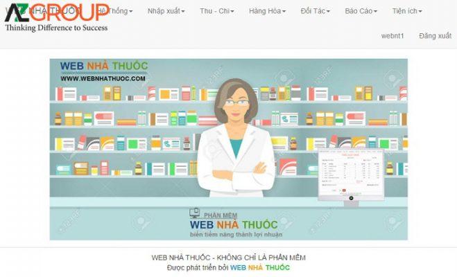 Dịch vụ chăm sóc website nhà thuốc