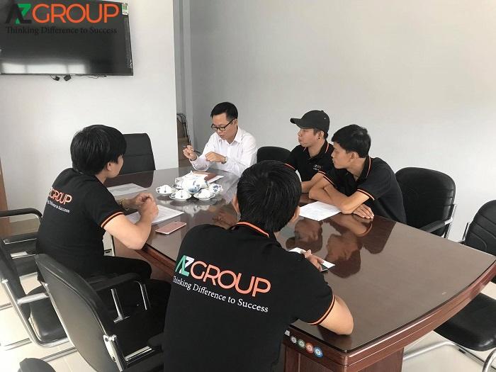 Quy trình chăm sóc website của AZGroup