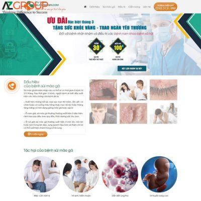 Dịch vụ chăm sóc website phòng khám nha khoa
