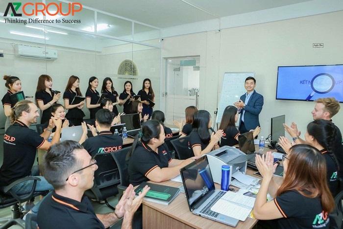 Đội ngũ nhân viên của Công ty AZGroup
