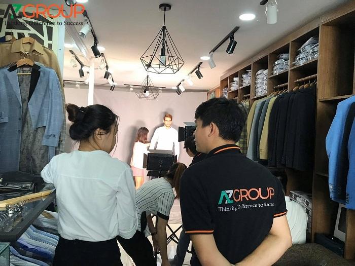 AZGroup cung cấp các dịch vụ quay phim, chụp ảnh chuyên nghiệp