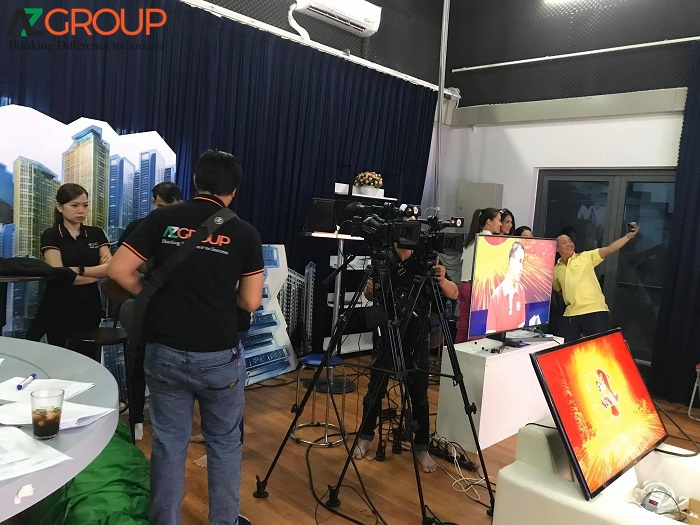 Dịch vụ quay phim chụp hình cho doanh nghiệp AZGroup