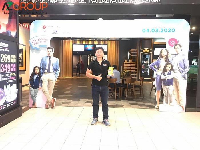 Công ty cung cấp dịch vụ Quảng cáo rạp chiếu phim Lotte Cinema