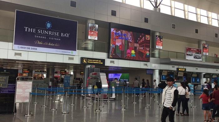 Hình thức quảng cáo tại sân bay Đà Nẵng