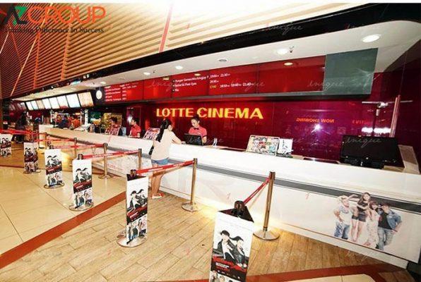 Quảng cáo tại rạp Lotte Cinema Bạc Liêu
