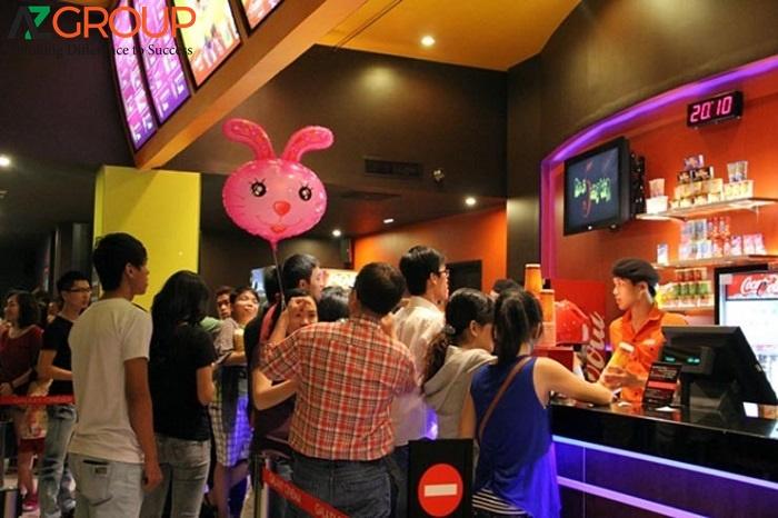 Quảng cáo tại rạp Lotte Cinema Đồng Tháp