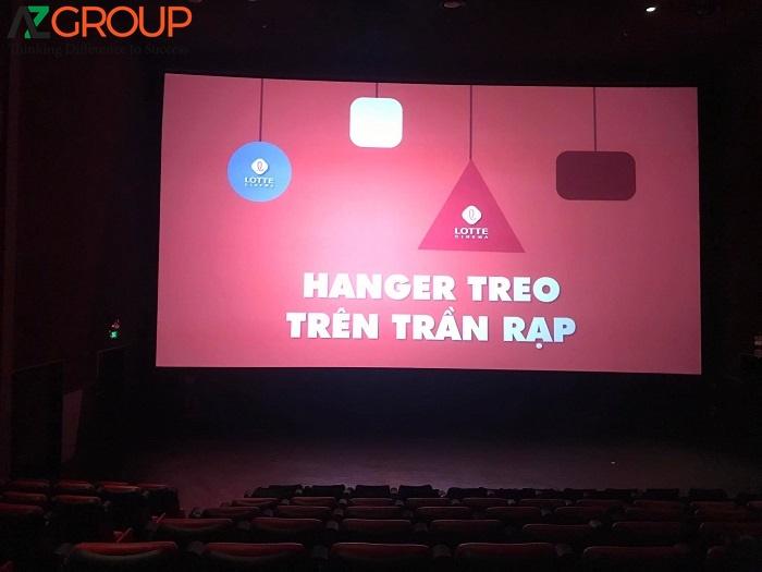 Lợi thế khi quảng cáo tại Lotte Cinema