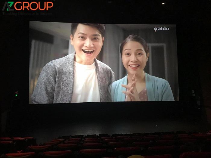 Màn hình ở Lotte Cinema