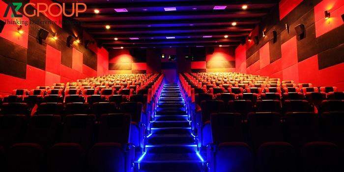 Quảng cáo tại rạp Lotte Cinema Trà Vinh