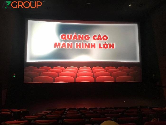 Quảng cáo màn hình lớn của Lotte Cinema