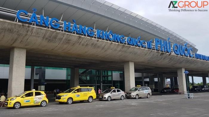 quảng cáo sân bay Phú Quốc