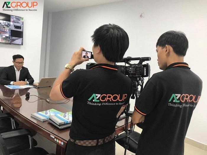Dịch vụ quay phim chụp hình chuyên nghiệp AZGroup