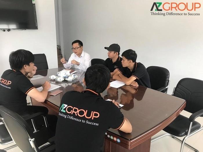 Dịch vụ thiết kế app tại AZGROUP