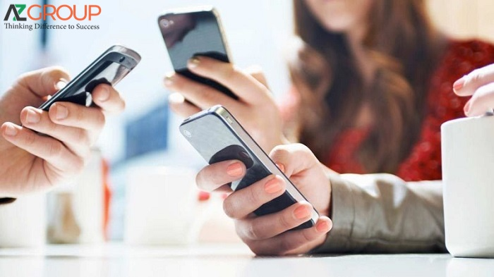 Điện thoại di động ngày càng phổ biến