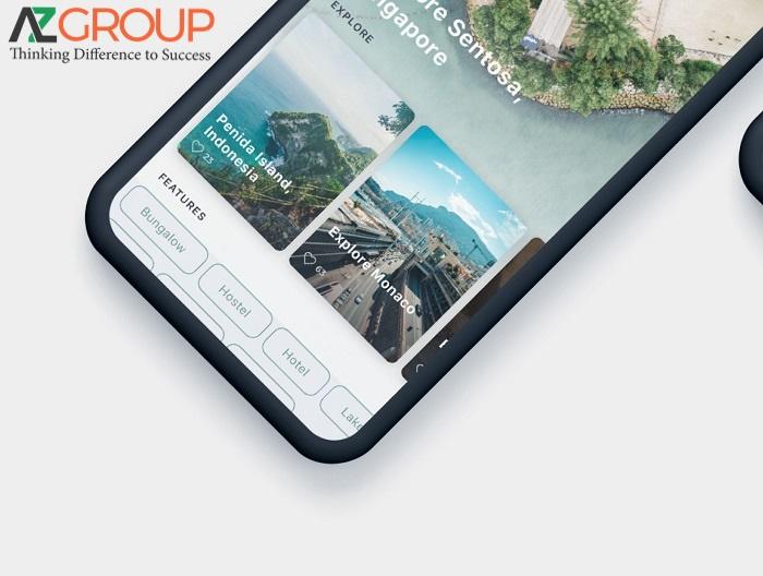 Thiết kế app du lịch