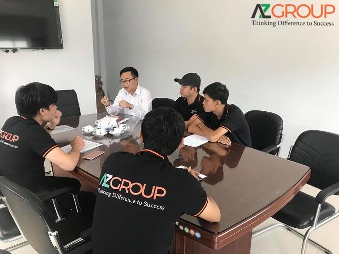 Đơn vị cung cấp dịch vụ thiết kế app AZGROUP