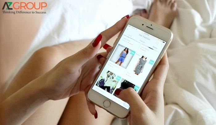Thiết kế app shop quần áo