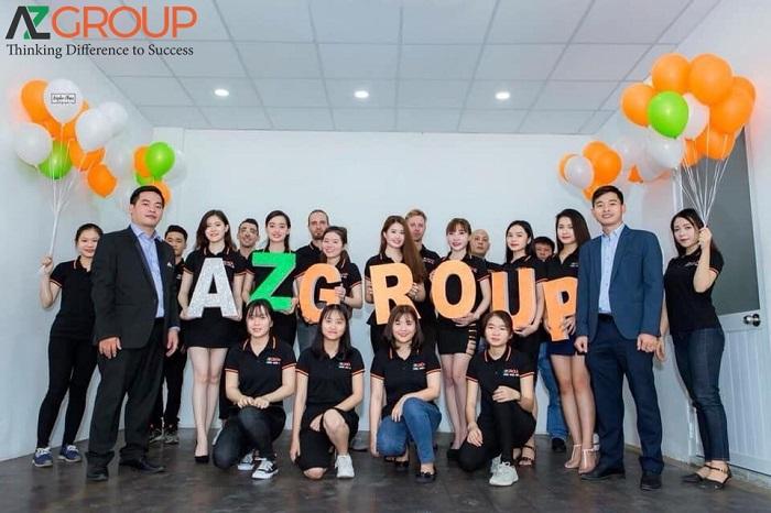Đội ngũ nhân viên AZGROUP chuyên nghiệp