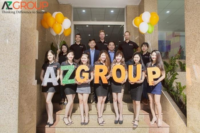 Dịch vụ thiết kế app AZGROUP