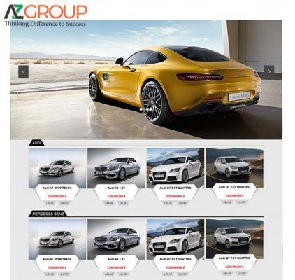 Thiết kế app xe hơi