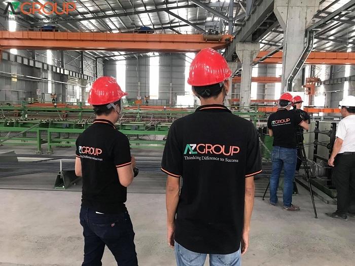 Địa chỉ thiết kế app xưởng sản xuất AZGROUP