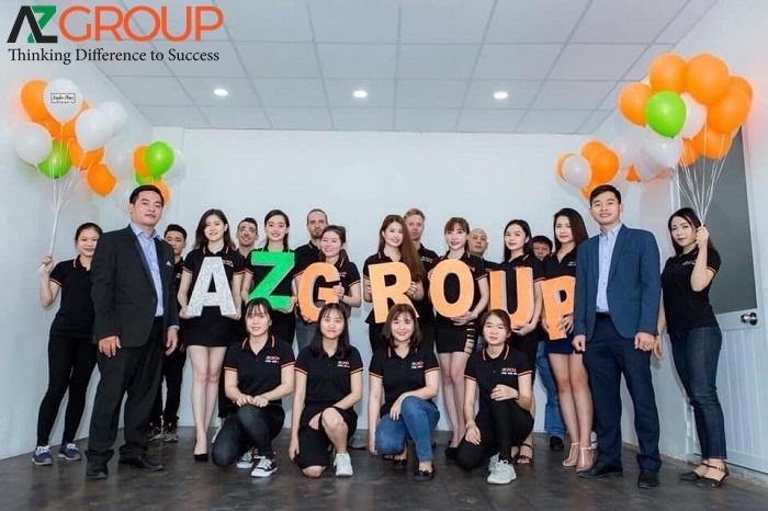 Đội ngũ nhân viên chuyên nghiệp tai AZGroup