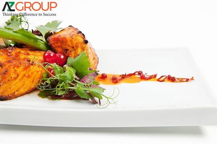 Thiết kế website ẩm thực