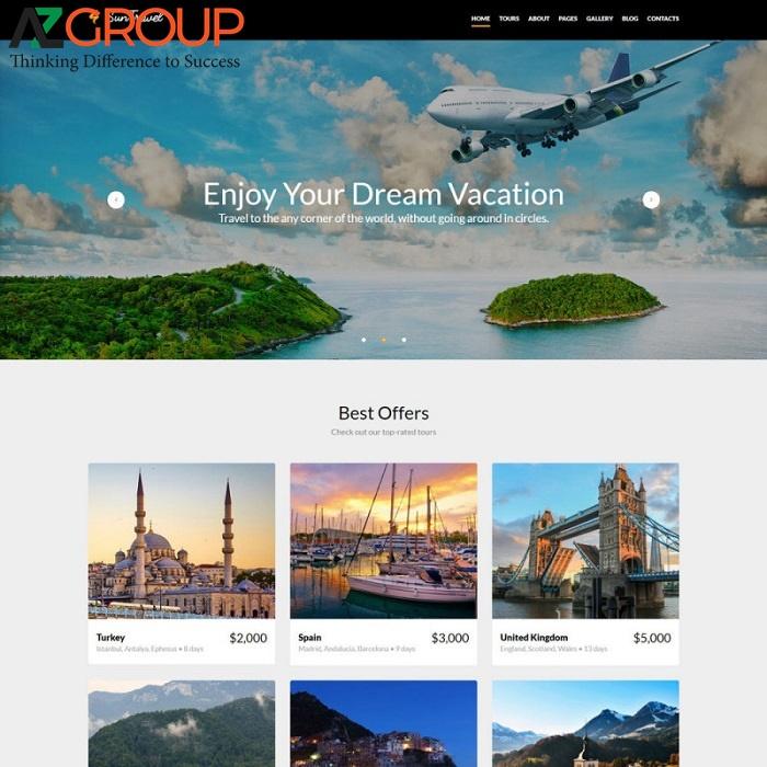 Lợi ích của thiết kế website du lịch