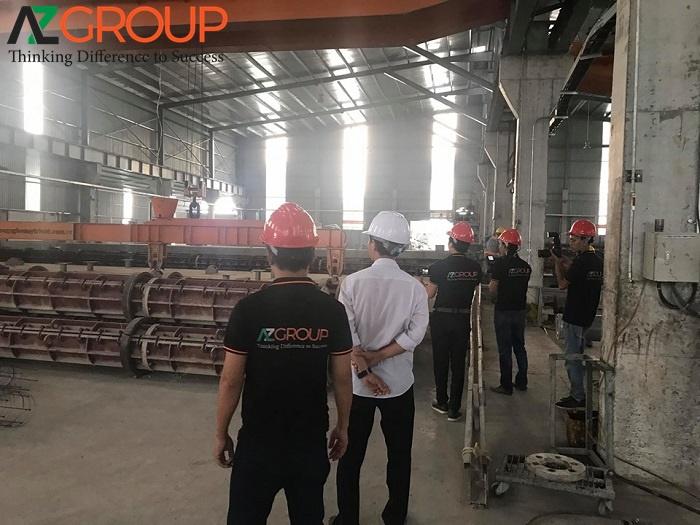 Dịch vụ thiết kế website nhà máy chuyên nghiệp tai AZGroup